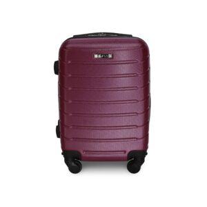 Комплект чемоданов Fly 1107 | пластиковый | темно-фиолетовый