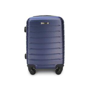 Комплект чемоданов Fly 1107 | пластиковый | темно-синий