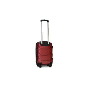 Мини чемодан (XS) Fly 147 | пластиковый | бордовый | 50x32x18 см | 27 л | 2,4 кг