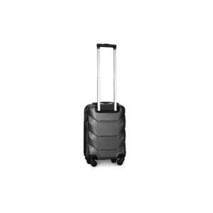 Мини чемодан (XS) Fly 147 | пластиковый | темно-серый | 50x32x18 см | 27 л | 2,4 кг