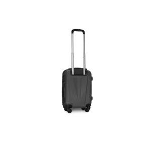Мини чемодан (XS) Fly 1107 | пластиковый | темно-серый | 50x32x18 см | 27 л | 2,4 кг