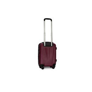 Мини чемодан (XS) Fly 1107 | пластиковый | темно-фиолетовый | 50x32x18 см | 27 л | 2,4 кг