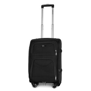 Маленький чемодан (S) Fly 6802-4k | тканевый