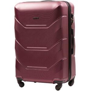 Средний чемодан (M) Wings 147 | пластиковый | бордовый | 64x44x26 см | 62 л | 3,15 кг