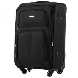 Средний чемодан (M) Wings 214-4k | тканевый