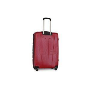 Средний чемодан (M) Fly 1107 | пластиковый | бордовый | 64x44x26 см | 62 л | 3,15 кг