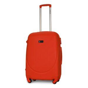 Средний чемодан (M) Fly 310-F | пластиковый | оранжевый | 64x44x26 см | 62 л | 3,15 кг
