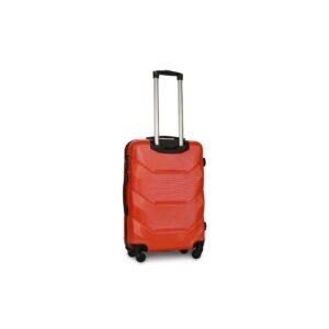 Средний чемодан (M) Fly 147 | пластиковый | оранжевый | 64x44x26 см | 62 л | 3,15 кг