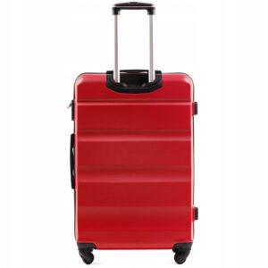 Большой чемодан (L) Wings AT01 | пластиковый | красный | 74x50x29 см | 86 л | 3,95 кг