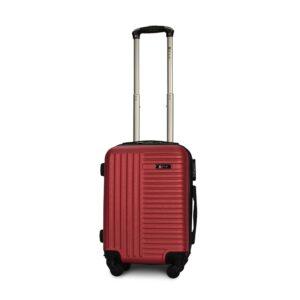 Мини чемодан (XS) Fly 1096 | пластиковый | бордовый | 50x32x18 см | 27 л | 2,4 кг