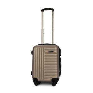 Мини чемодан (XS) Fly 1096 | пластиковый | шампань | 50x32x18 см | 27 л | 2,4 кг