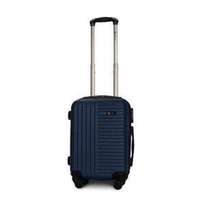 Мини чемодан (XS) Fly 1096 | пластиковый | темно-синий | 50x32x18 см | 27 л | 2,4 кг