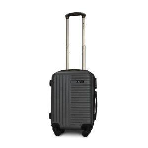 Мини чемодан (XS) Fly 1096 | пластиковый | темно-серый | 50x32x18 см | 27 л | 2,4 кг