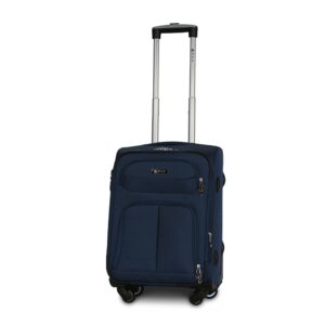 Маленький чемодан (S) Fly 8279-4k   тканевый   темно-синий   54х37х24(+5) см   37/45 л   3,25 кг