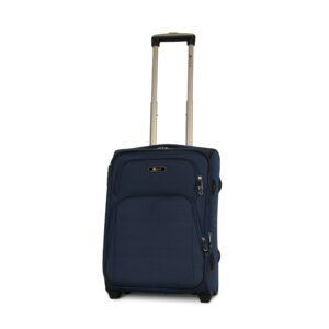 Маленький чемодан (S) Fly 8049-2k   тканевый   темно-синий   52х36х23(+5) см   37/45 л   3,05 кг