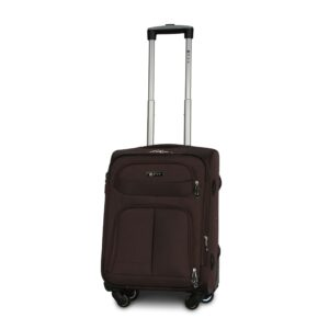 Маленький чемодан (S) Fly 8279-4k   тканевый   коричневый   54х37х24(+5) см   37/45 л   3,25 кг