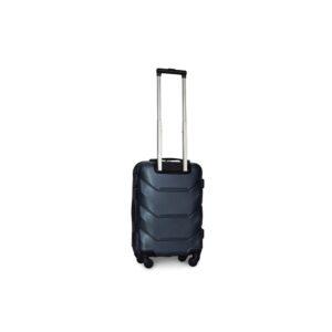 Маленький чемодан (S) Fly 147 | пластиковый | темно-синий | 55x40x20 см | 35 л | 2,6 кг