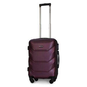 Маленький чемодан (S) Fly 147 | пластиковый | темно-фиолетовый | 55x40x20 см | 35 л | 2,6 кг