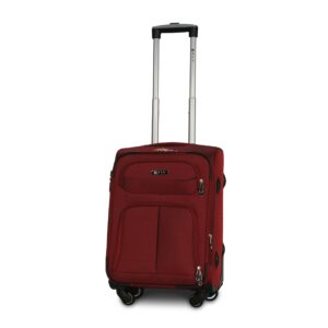 Маленький чемодан (S) Fly 8279-4k   тканевый   бордовый   54х37х24(+5) см   37/45 л   3,25 кг