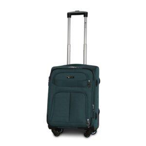 Маленький чемодан (S) Fly 8279-4k   тканевый   темно-зеленый   54х37х24(+5) см   37/45 л   3,25 кг