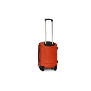 Маленький чемодан (S) Fly 147 | пластиковый | оранжевый | 55x40x20 см | 35 л | 2,6 кг
