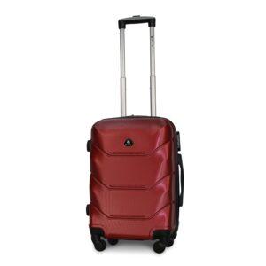 Маленький чемодан (S) Fly 147 | пластиковый | бордовый | 55x40x20 см | 35 л | 2,6 кг