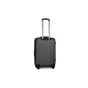 Средний чемодан (M) Fly 1096 | пластиковый | темно-серый | 64x44x26 см | 62 л | 3,15 кг
