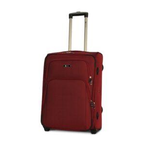 Средний чемодан (M) на 2 колесах | Fly 8049-2k | тканевый