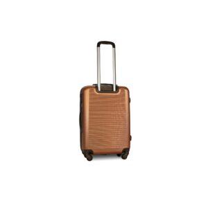 Средний чемодан (M) Fly 1101 | пластиковый | оранжевый | 64x44x26 см | 62 л | 3,15 кг