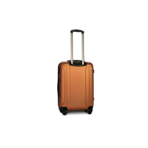 Средний чемодан (M) Fly 1096 | пластиковый | оранжевый | 64x44x26 см | 62 л | 3,15 кг
