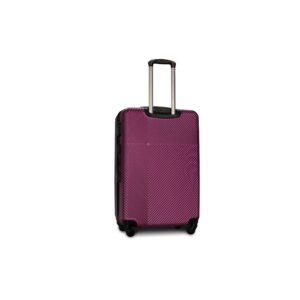 Большой чемодан (L) Fly 2130 | пластиковый | темно-фиолетовый | 74x50x29 см | 86 л | 3,95 кг