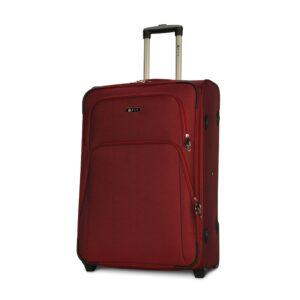 Большой чемодан (L) на 2 колесах   Fly 8049-2k   тканевый