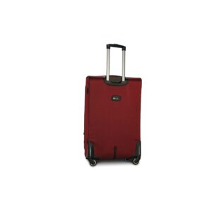 Комплект чемоданов Fly 8279-4k | тканевый | бордовый