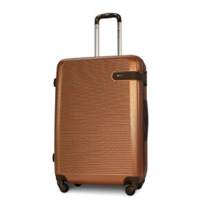 Большой чемодан (L) Fly 1101 | пластиковый | оранжевый | 74x50x29 см | 86 л | 3,95 кг