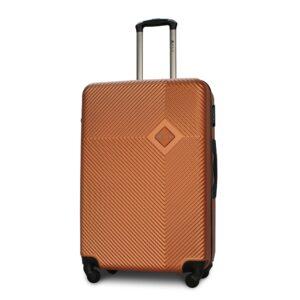Большой чемодан (L) Fly 2130 | пластиковый | оранжевый | 74x50x29 см | 86 л | 3,95 кг