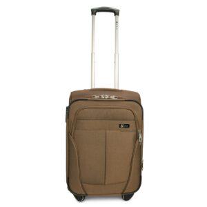 Комплект чемоданов Fly 1304-4k | тканевый | бежевый