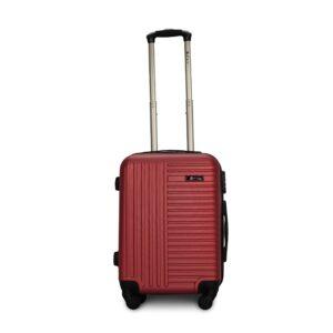 Комплект чемоданов Fly 1096 | пластиковый | бордовый