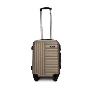 Комплект чемоданов Fly 1096 | пластиковый | шампань