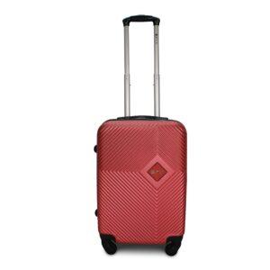 Комплект чемоданов Fly 2130 | пластиковый | бордовый