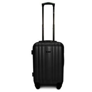 Комплект чемоданов Fly 614 | пластиковый | черный