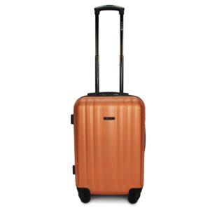 Комплект чемоданов Fly 614 | пластиковый | оранжевый