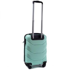 Мини чемодан (XS) Wings 147 | пластиковый | ментоловый | 50x32x18 см | 27 л | 2,4 кг