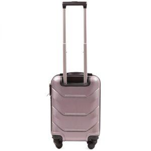 Мини чемодан (XS) Wings 147 | пластиковый | розово-золотой | 50x32x18 см | 27 л | 2,4 кг