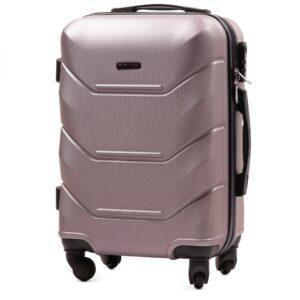 Маленький чемодан (S) Wings 147 | пластиковый | розово-золотой | 55x40x20 см | 35 л | 2,6 кг