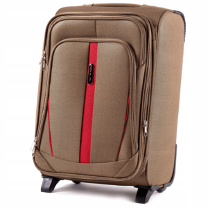 Маленький чемодан (S) Wings 1706-2k | тканевый | бежевый | 52х36х23(+5) см | 37/45 л | 3,05 кг