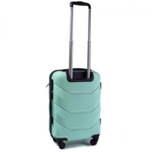 Маленький чемодан (S) Wings 147 | пластиковый | ментоловый | 55x40x20 см | 35 л | 2,6 кг