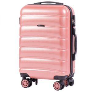 Маленький чемодан (S) на 4 колесах | Wings 160 | поликарбонат | для ручной клади
