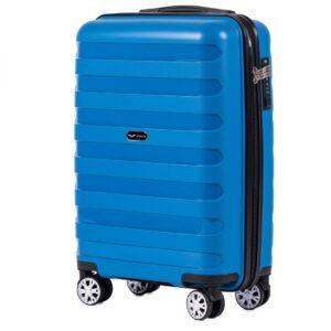 Маленький чемодан (S) Wings PP07 | полипропилен | синий | 55x40x20 см | 35 л | 2,6 кг