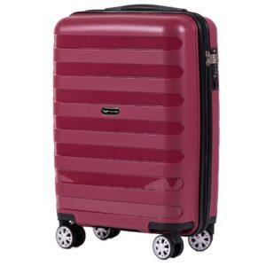 Маленький чемодан (S) Wings PP07 | полипропилен | красный | 55x40x20 см | 35 л | 2,6 кг
