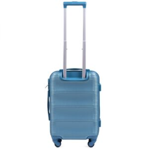 Маленький чемодан (S) Wings k-203 | пластиковый